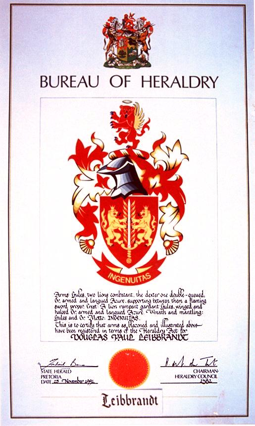 Shop Coat of Arms, the most comprehensive Coats of Arms, family crest,